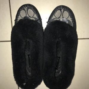 Authentic Coach Slippers